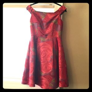 Rose Adrianna Papell Dress